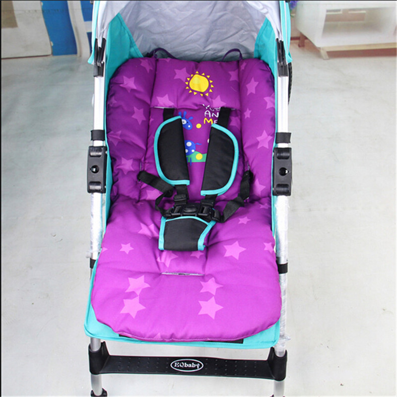 Colorful Baby Pram Liner Baby Car Stroller Seat Prams and pushchairs Pad Cushion For Children Thick Buggy Carriage Mat<br><br>Aliexpress