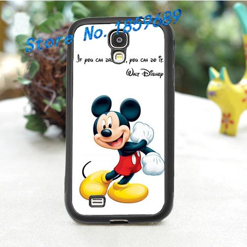 Walt Quote If U Dream It U Can Do It Mickey 5 fashion cover case for samsung galaxy s3 s4 s5 s6 note 2 note 3 note 4 *P359P(China (Mainland))