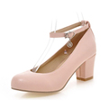 Women Shoes Pumps Spring Autumn Mary Jane Casual Platform Shoes Wedges Heels Flock Sequined Beige Pink