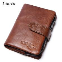 Buy 2017 New Fashion Small Retro Vintage Cowhide Genuine Leather Wallet Multinational Card Holders Coin Purse Women Short Walelts for $12.67 in AliExpress store