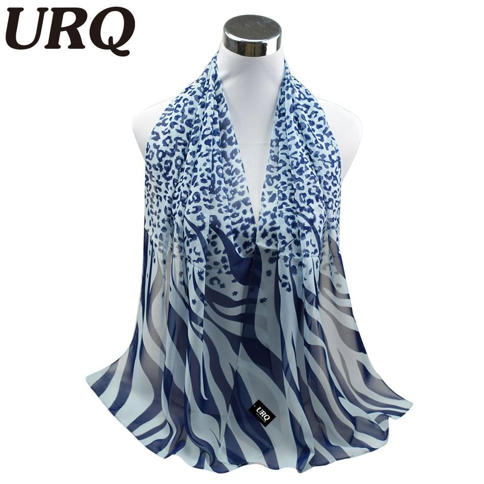 Long Chiffon Silk scarves 1PC 50*160cm Sexy Design Leopard Zebra Line Print Woman Lady scarves Muffler P5A16274(China (Mainland))