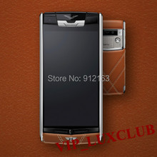 VIP Luxury Signature Touch Limited Edition Mobile Phones Calfskin Leather, Titanium,Android 4.4 Luxury signature Smartphones