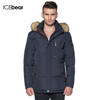 ICEbear 2015 Long Winter Men's Clothing Outdoor Casual Jackets Mens and cotton Parkas Male Big Man Napapijri