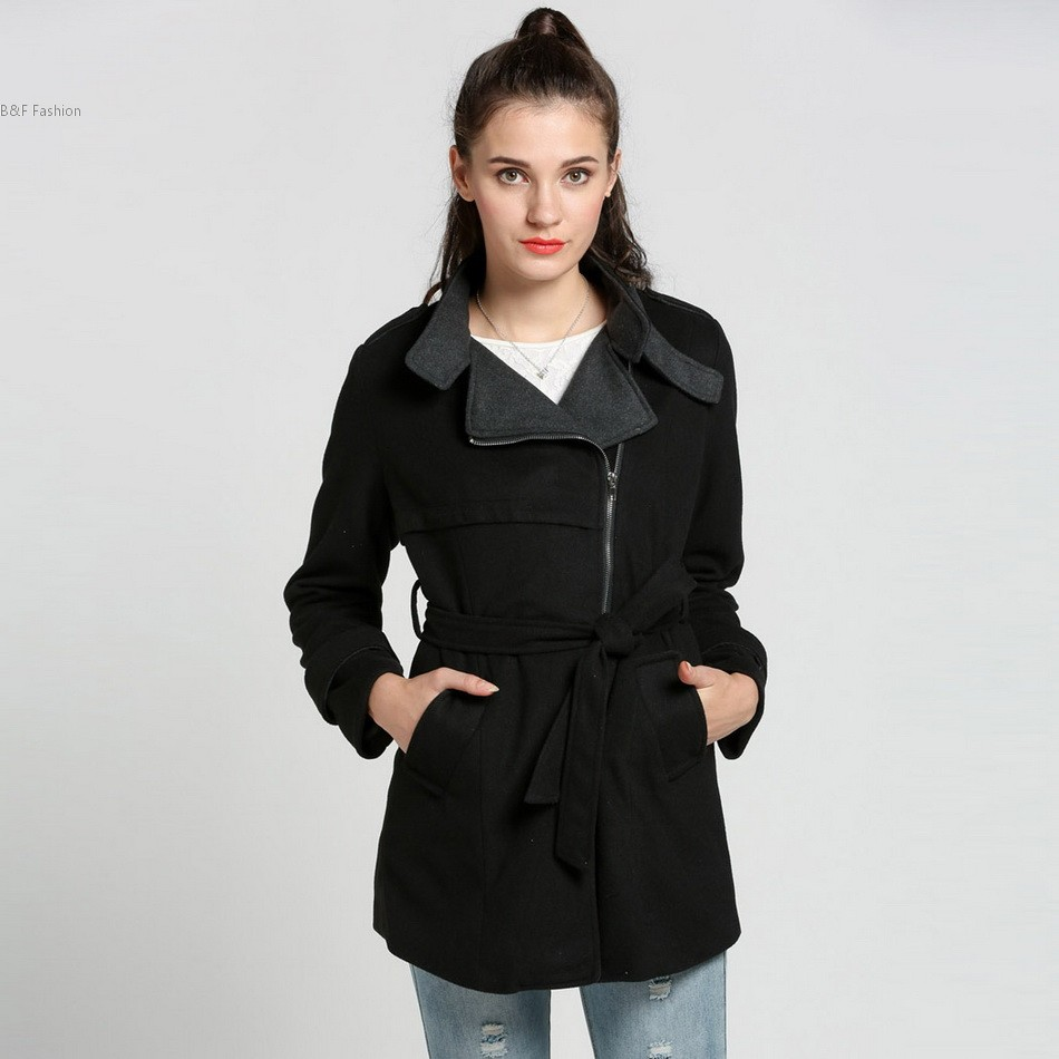 Compare Prices on Black High Collar Coat- Online Shopping/Buy Low