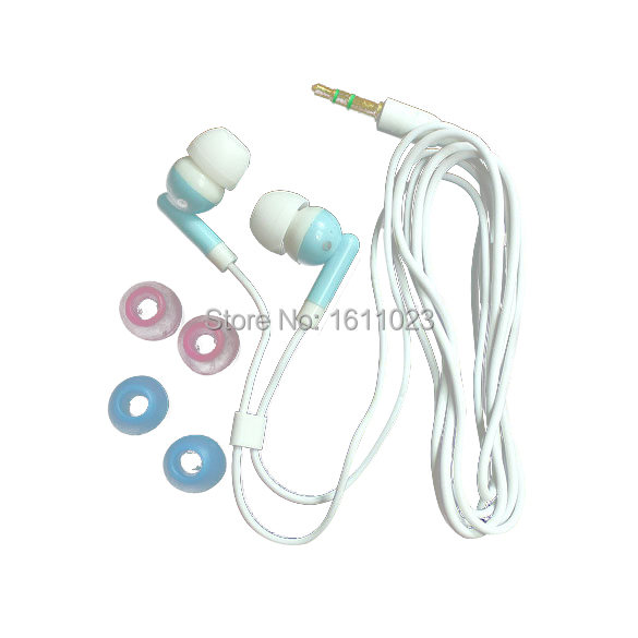 Earbud Earphone For MP3 MP4 PDA PSP Players 3.5mm F E2shopping(China (Mainland))
