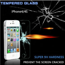 HOT! 2016 new Free Shipping 0.3mm Easy Installation Premium Tempered Glass Screen Protector case for IPhone 6s Plus 6s 4s 5s