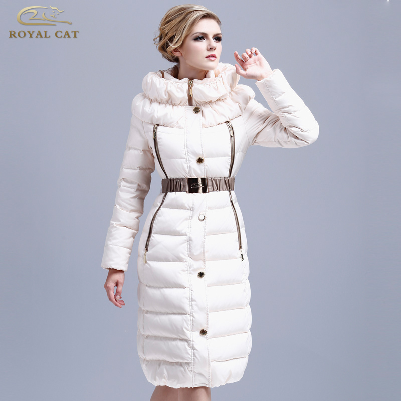 Royalcat 2016 Winter Jacket Women Jackets 90% Duck long Coat fashion Parka slim Outwear - Xuzhou jingjing international trading company store