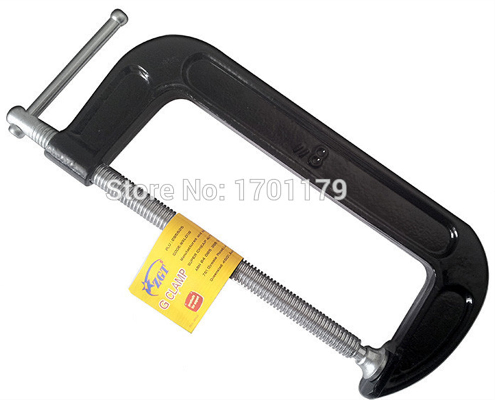 Heavy-grade 2-12 inch F G clip woodworking clamp clip fixture c word Hardware Tools