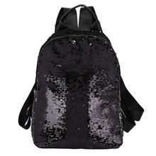 Женский балетный рюкзак сумка для дискотеки для девочек балетный рюкзак большой емкости Блестящий блестящий PU рюкзак на плечо дорожная сум...(China)