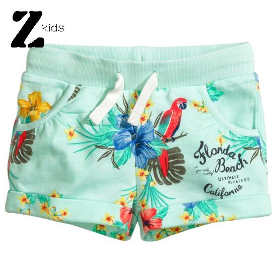 new fashion 2015 Summer style cute floral print baby girls short pants children casual thin shorts toddler baby kids retail <br><br>Aliexpress