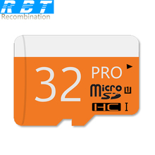 2015 RBT Real Capacity High Speed  Orange Gift 8GB 16GB 32GB Memory Card  TF Card Micro SD Card Pass H2test Free Shipping(China (Mainland))