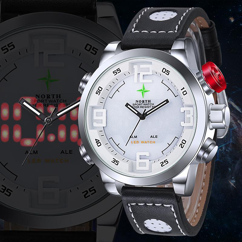 LED Digital Watch Men Sport Watch Running LCD Wristwatch Waches Men Analog Digital-Watch Men Quartz-Watch Auto Date Reloj Hombre(China (Mainland))
