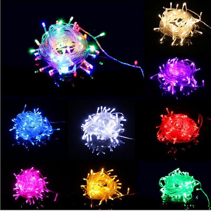 Free Shipping Christmas Lights Decorative Fairy Lights Colorfull Led String lights For party wedding