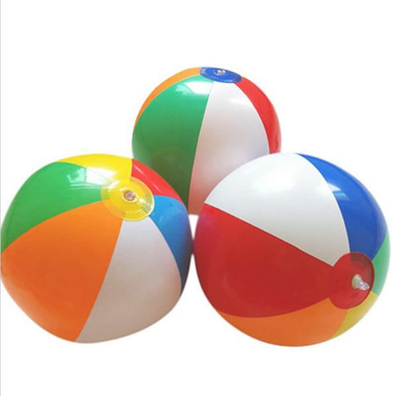 Ball Toys For Toddlers : Cm colored inflatable beach balls rubber children