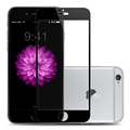 Full Screen scratch resistant White Black Color HD Front Tempered Glass Film for iPhone 6 plus