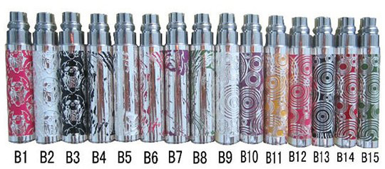 DHL EGO - B Rechargeable E Cigarette Electronic Cigarettes Grade A-Level Battery for CE4 CE5 H2 MT3 etc. Atomizer Wholesale(China (Mainland))