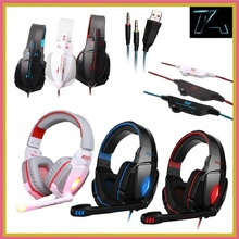 High Quality Brand EACH G4000 Stereo Wired Gaming Headset Headphone studio earphone auriculares with Mic Volume Control for PC
