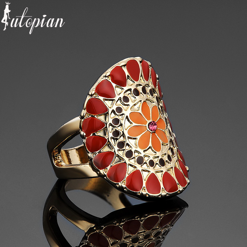 Iutopian Brand Vintage Retro Unique Rings Anels For Women Punk Style Amazing Design #CJ052(China (Mainland))