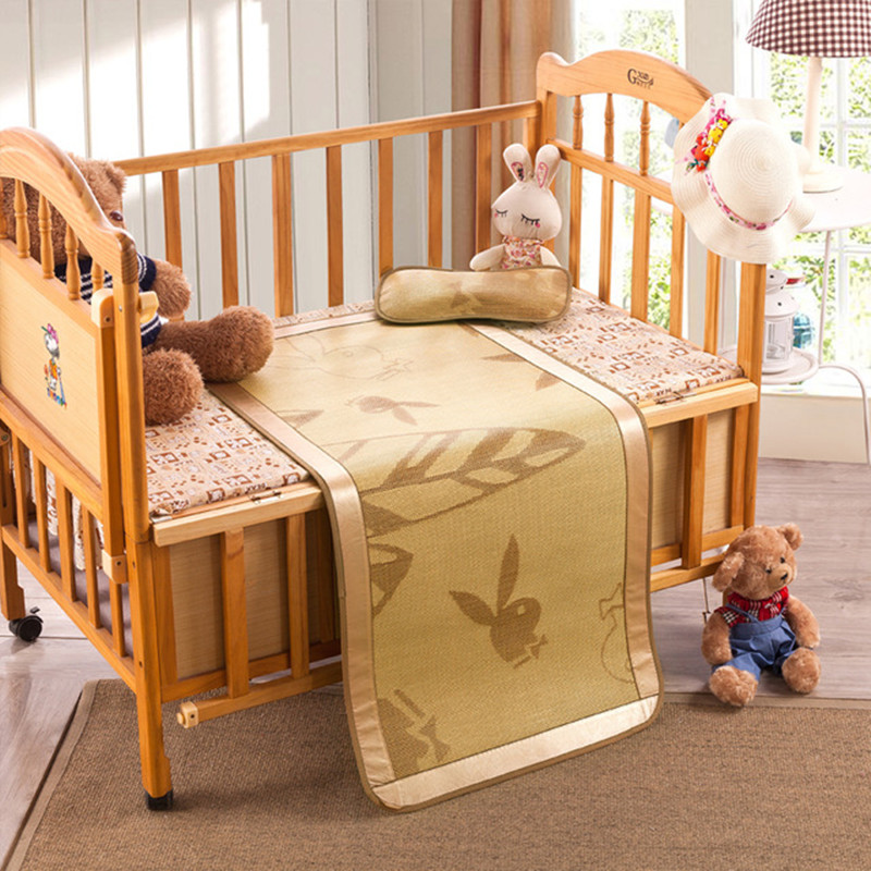 baby bed Plant fiber flax grass bamboo mat ice silk mat of children in kindergarten Mat rattan seats bamboo mats mattress(China (Mainland))