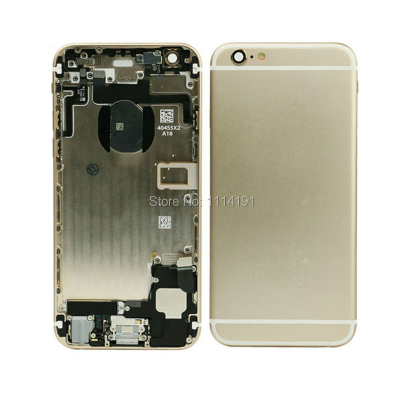 Chassis Full Parts for iPhone 6 6G Middle Frame Bezel Midframe Housing Battery Door Rear Case Cover Assembly Replacement Tools