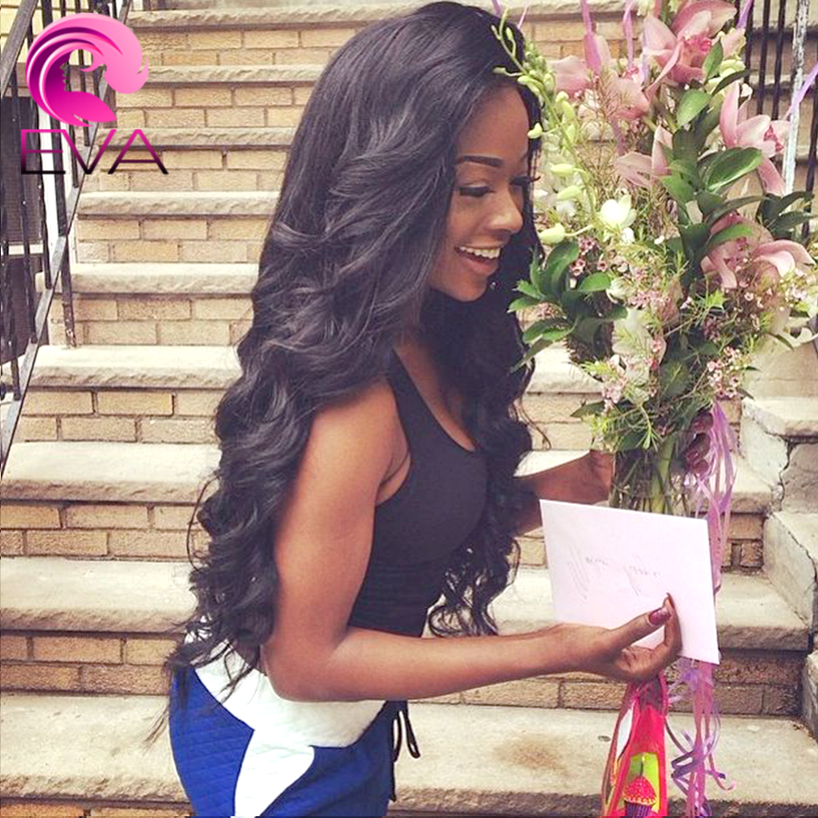 Фотография Full Lace Loose Wave Human Hair Wigs For Black Women Glueless Lace Front Human Hair Wigs 7A Brazilian Virgin Hair Wig Free Ship