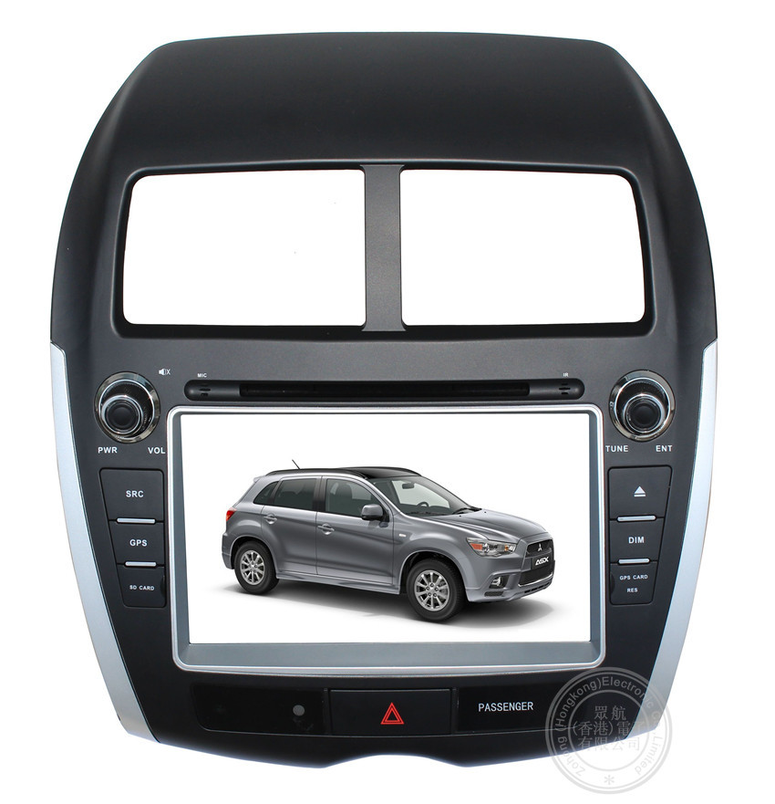 8 inch Car DVD Player For Mitsubishi ASX 2013 2014 radio GPS navigation with free map(China (Mainland))