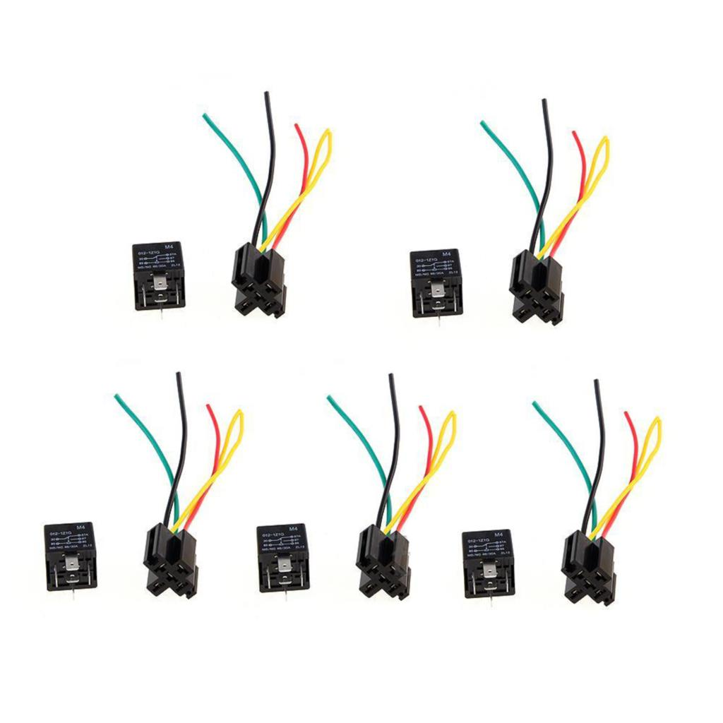 12v Spdt Relay Wiring Diagram - Wiring Diagram Collection