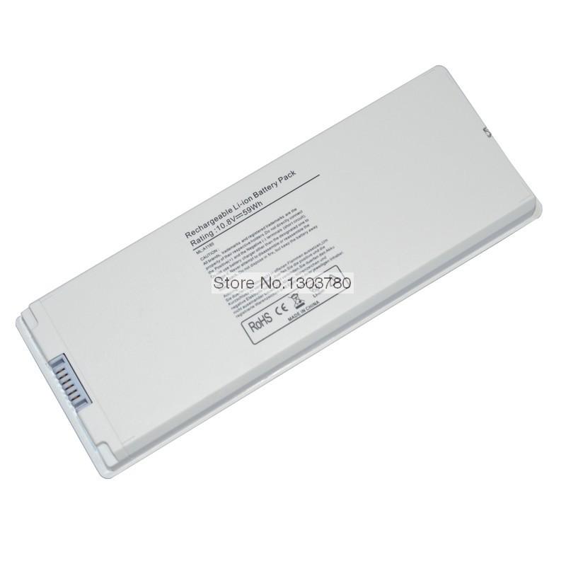 "59wh Laptop Battery MA561 MA561G/A MA561J/A MA561LL/A MA566 MA566G/A MA566J/A for Apple MacBook 13"" A1181 A1185 MA701 MA472(China (Mainland))"