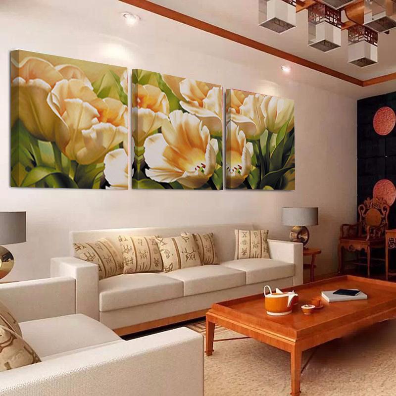 Tulip framed art reviews online shopping tulip framed for Pintura para sala comedor