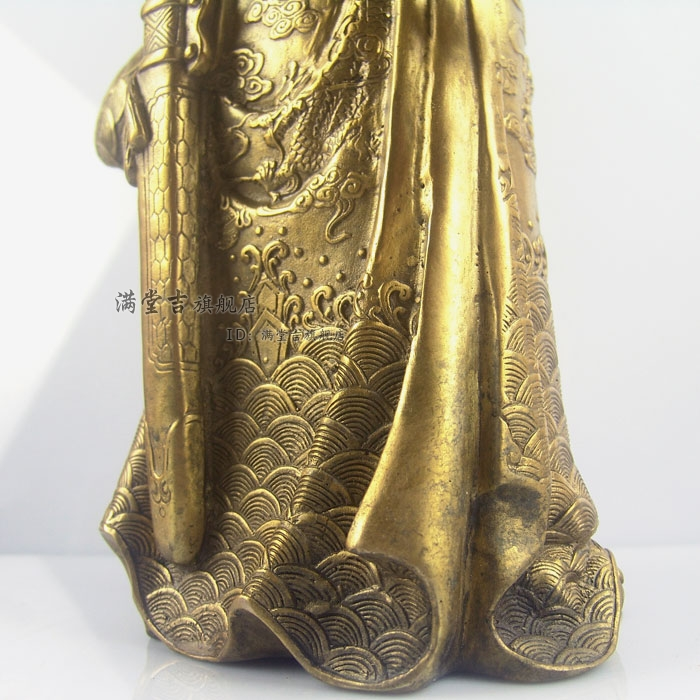 Buy Mammographies knife sabre Copper buddha blue bodhisattva at home Brass decoration tq7494 Brass CHINESE crafts cheap