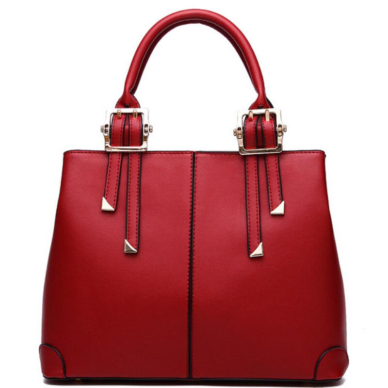 Women Handbags Leather Big Tote Bag High Quality Female Satchels Womens Pouch Fashion Ladies Purses And Handbags Bolsas Feminina(China (Mainland))