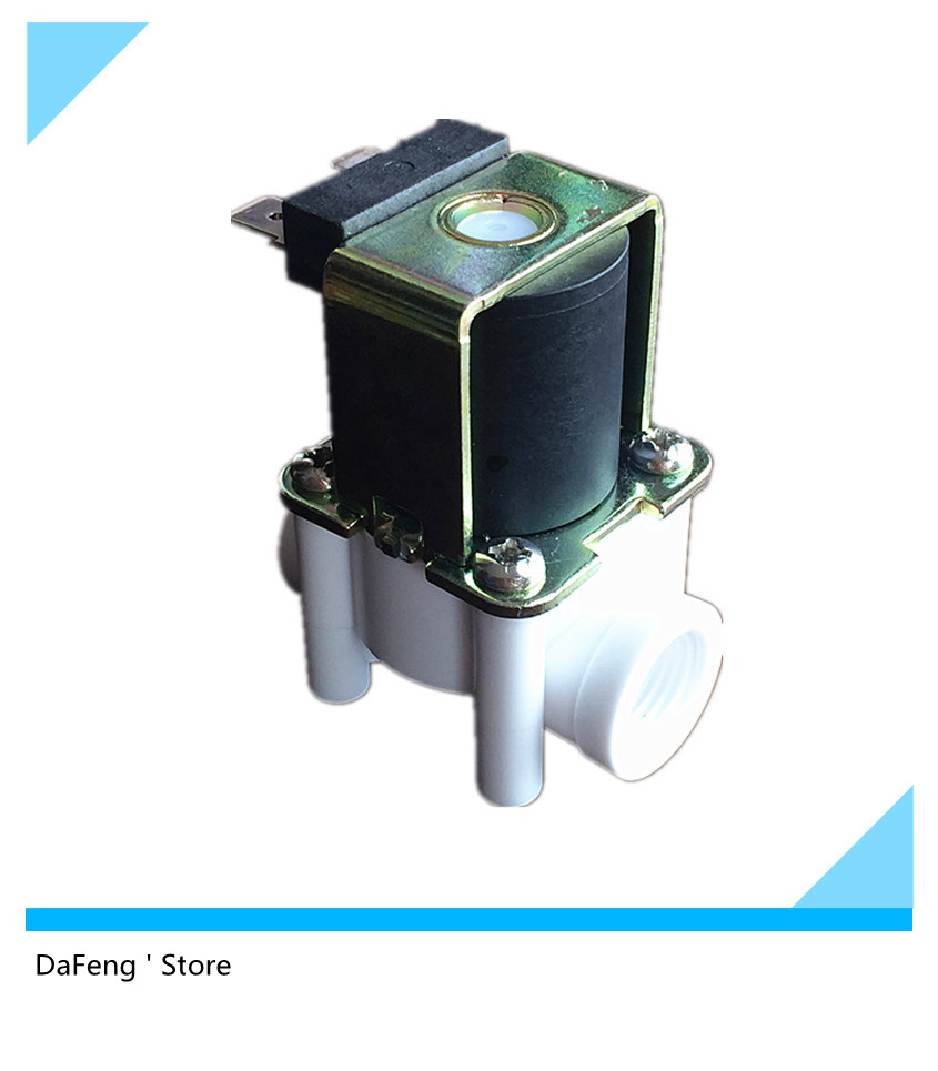 "Free shipping 12Vdc Solenoid valve water valve Normally closed 1/4"" Health level(China (Mainland))"