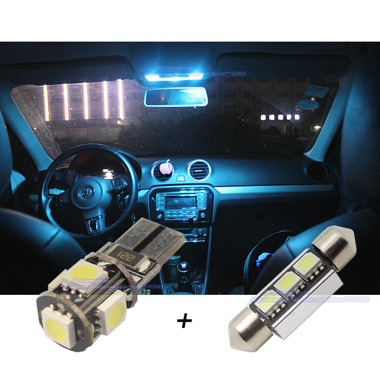 10 pcs xcar led canbus interior light bar kit white for vw polo 6r 2010 2014 car led dome rear. Black Bedroom Furniture Sets. Home Design Ideas