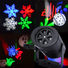 New Projector Lamps LED Stage Light Heart snow spider bowknot bat For Christmas Party Landscape Light Garden Lamp Outdoor(China (Mainland))