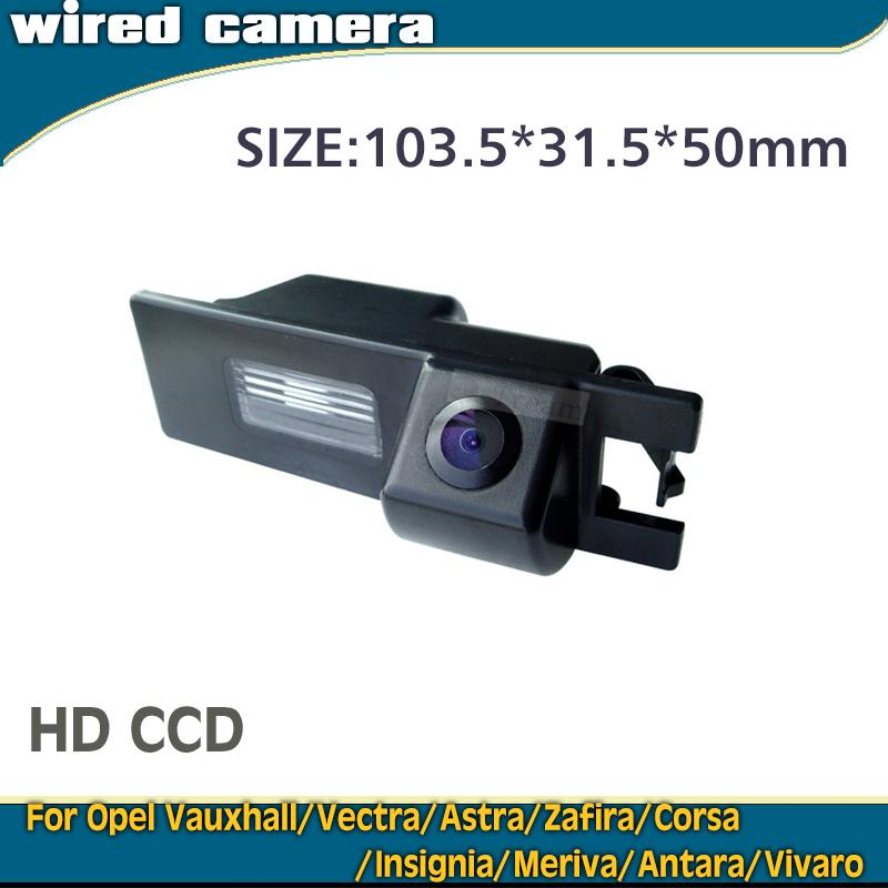 CCD1/3'' Waterproof Wired car parking back up camera for Opel Vauxhall Vectra Astra Zafira Corsa Insignia Meriva Antara Vivaro(China (Mainland))