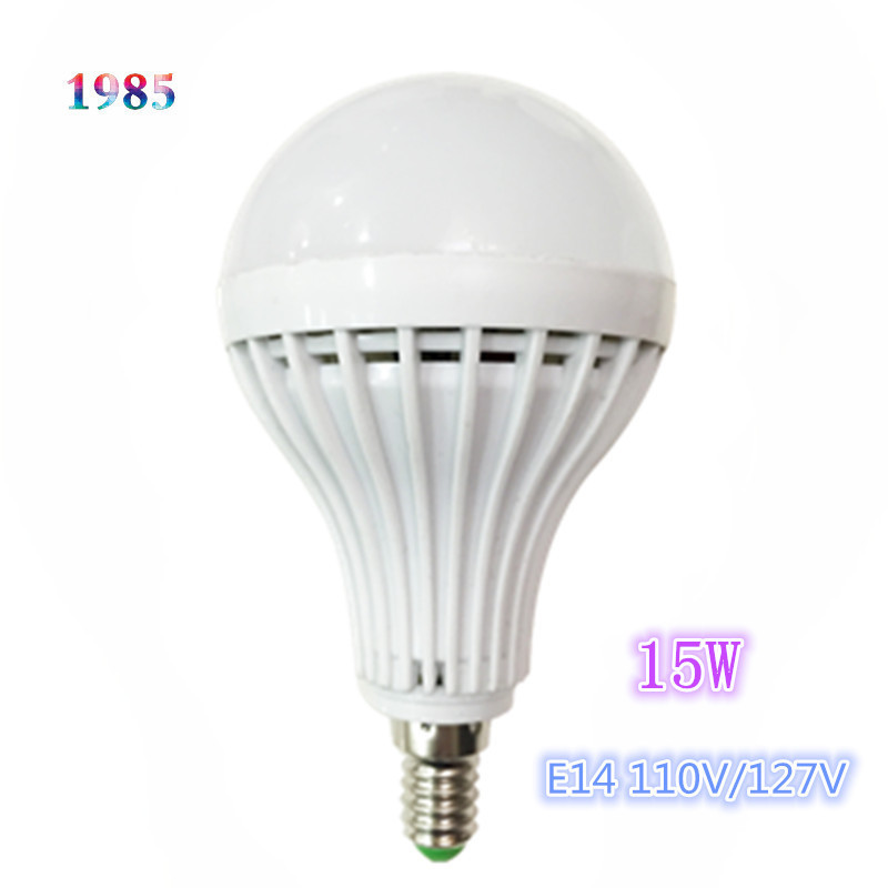 2015 Wholesale Smd 5730 E14 Led Light Bulb 3w 6w 9w 12w 15w Led Lamp 110v 127v Cold Warm White