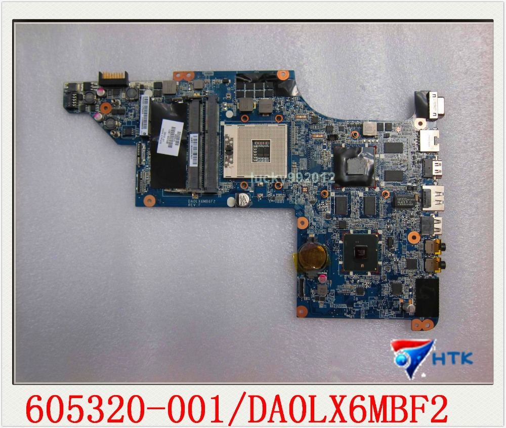Wholesale For HP Pavilion DV7 DV7T DV7-4000 Motherboard 605320-001 100% Work Perfect<br><br>Aliexpress
