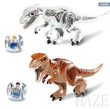 New Mini Figures Building Toys Gray Masrani Indominus Rex Tyrannosaurus Rex