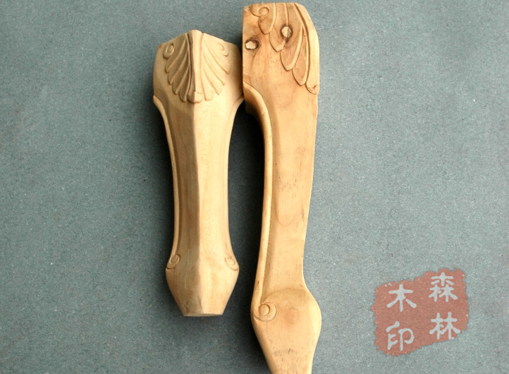 Wood antique furniture fashion furniture legs solid wood cabinet legs bed sofa legs table legs(China (Mainland))