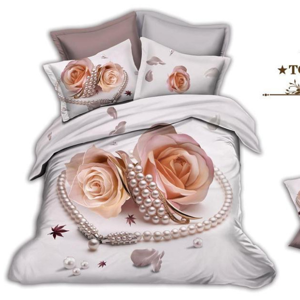 acheter green leaf le kit linge de impression d 39 huile 3d r active diamant cheval. Black Bedroom Furniture Sets. Home Design Ideas