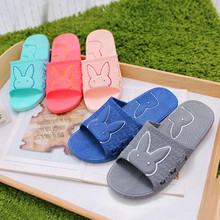 Unisex Summer Indoor Slippers Women & Men Anti-slip Slipper Lovers Slides Bathroom Slippers Home Slipper Shoes