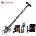 KingKong Upscale Outdoor Folding Shovel outdoor survival shovel Camping Outdoor Tool shovel military DHL free shipping