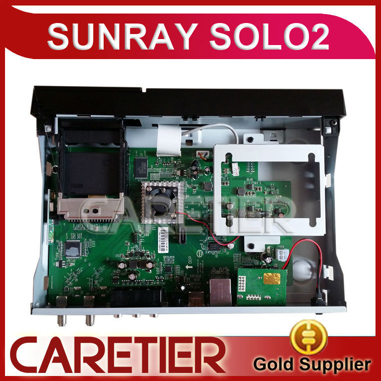 solo2 simV2 the one com es with usb2 service port ,original image, satellite receiver sunray solo 2 free shipping(China (Mainland))