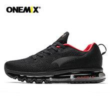 Onemix мужские спортивные кроссовки для бега Музыка Ритм мужские кроссовки дышащие сетчатые уличные спортивные легкая обувь Мужская обувь Ра...(China)