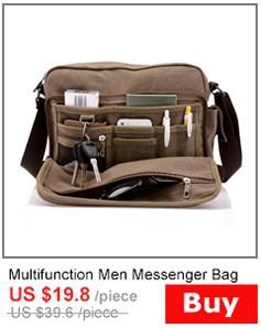חדש 2014 גברים של שקיות שליח באיכות גבוהה בד תכליתי תיק כתף לגברים נסיעות עסקים אביזרי סגנון מקרית