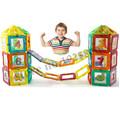 Mini 136pcs lot 3D Magnetic Model Building Blocks Toy Kit Magnetic Designer Construction Brick For Children