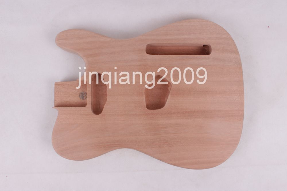 ONE Unfinished electric ST guitar body new high quality Mahoganywood<br><br>Aliexpress