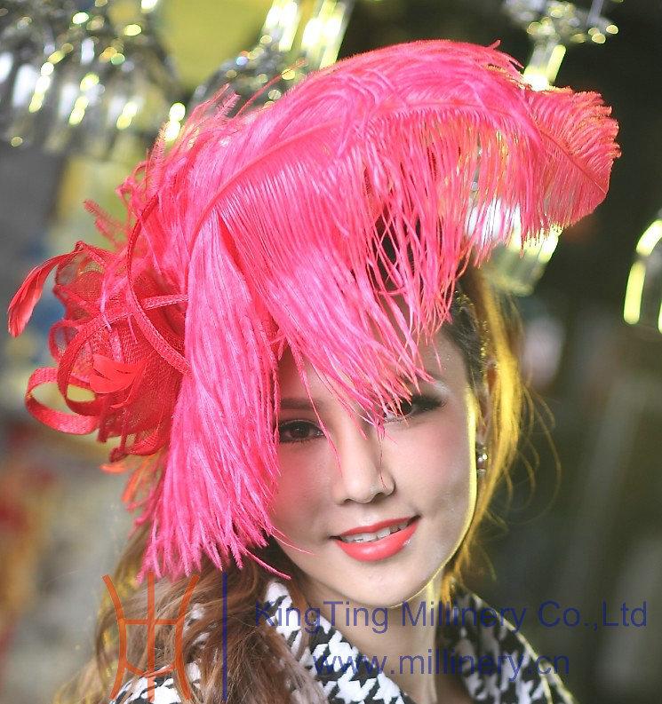Ladies Fascinator Hats Women Dress Girl Hair font b Accessories b font Wedding Bridal Headpiece Headband
