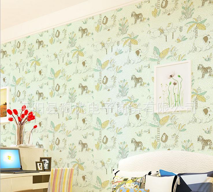 Buy 3 get 1 PVC self-adhesive wallpaper bedroom cartoon children waterproof bathroom vinyl wall paper(China (Mainland))