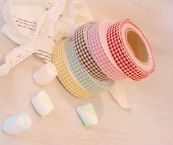 Best Selling kawaii 5pcs / Lot for Decorative Adhesive Paper Tape and Flower Designs Japanese Washi Tape Wholesale(China (Mainland))